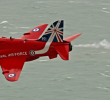 Single Arrow Fast And Low - Beachy Head - Eastbourne 2014 Sticker