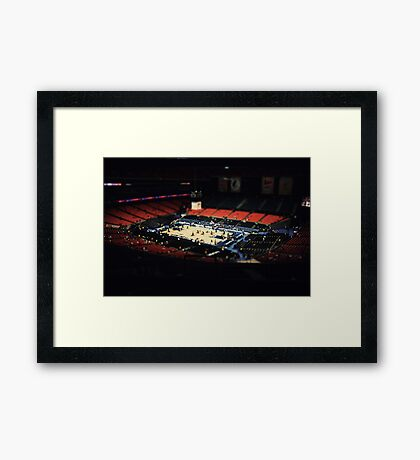 ACC tournament Framed Print