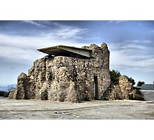 Lookout tower, Bateria de Cenizas, Costa Calida, Spain  Photographic Print