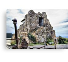 Watchtower, Bateria de Cenizas, Costa Calida, Spain  Canvas Print