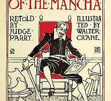 Don Quixote of the Mancha retold by Judge Parry Illustrated by Walter Crane 1920 9 - Interior Title Plate by wetdryvac