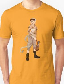 The Force Awakens- Rey Unisex T-Shirt