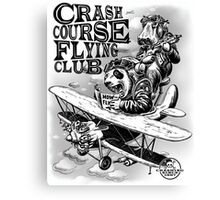 CRASH COURSE - AVIATION Canvas Print