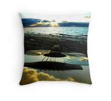 Six Strings to Heaven Throw Pillow