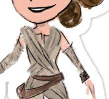 Star Wars The Force Awakens Rey Sticker