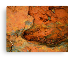 Geology  - Rock Form Brockman Iron Formation Western Australia Canvas Print