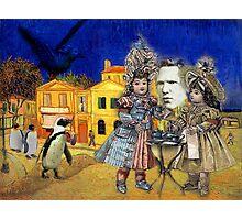 Tea with Van Gogh Photographic Print