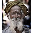 ' Old Man Turban ' by Mat Moore