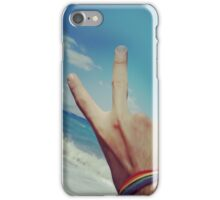 Rainbow Summer Day iPhone Case/Skin