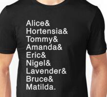 Matilda the Musical - Names Unisex T-Shirt