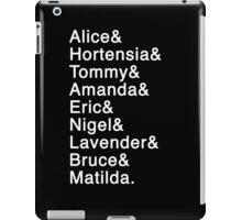 Matilda the Musical - Names iPad Case/Skin
