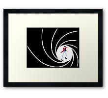 Lupin the 007 Framed Print