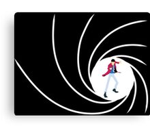 Lupin the 007 Canvas Print