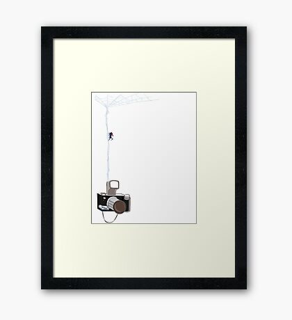 Peter Parker Framed Print