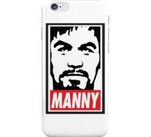 Obey Manny Pacquiao by AiReal Apparel iPhone Case/Skin