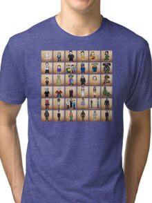 Buffy - Mini Monsters  Variant  Tri-blend T-Shirt