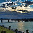 Cloudy Escape - Iron Cove Bridge Balmain by Jason Ruth