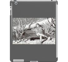 Waiting for her lover in Tucson, Arizona iPad Case/Skin