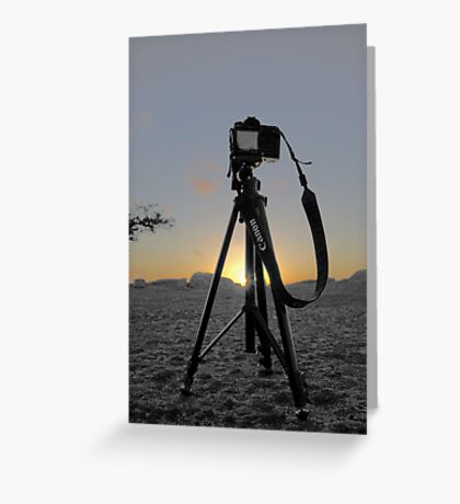 Cannon 40D Greeting Card