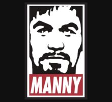 Obey Manny Pacquiao by AiReal Apparel T-Shirt
