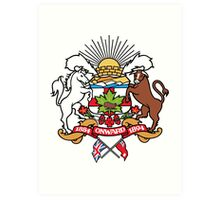 Calgary Coat of Arms Art Print
