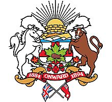 Calgary Coat of Arms Photographic Print