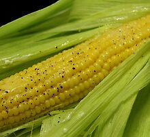 Corn On the Cob by Vickie Emms