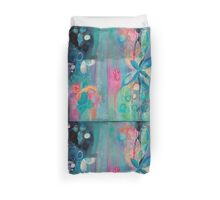 Armed with Petals and Colors Duvet Cover