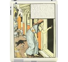 The Forty Thieves by Walter Crane 1898 10 - Ali Baba and his Wife then Measured the Gold iPad Case/Skin