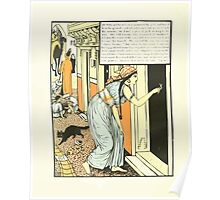 The Forty Thieves by Walter Crane 1898 10 - Ali Baba and his Wife then Measured the Gold Poster