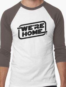 We're Home (Black) Men's Baseball ¾ T-Shirt