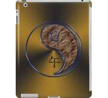 Libra & Horse Yang Earth iPad Case/Skin