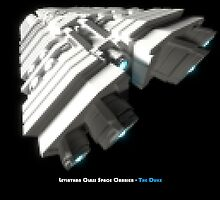 8 Bit Pixel Spaceship Leviathan Class Space Carrier - The Duke by projectmobius