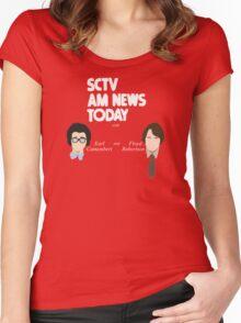 SCTV AM News Women's Fitted Scoop T-Shirt