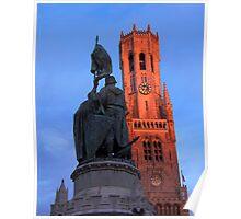 Belgium. Bruges.  Poster