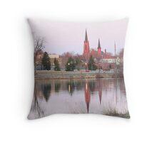 Mill Pond Austin, MN. Throw Pillow