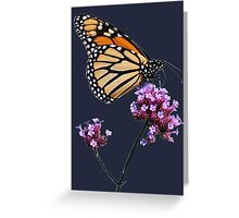 Monarch tee2 Greeting Card