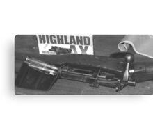 top gun Canvas Print