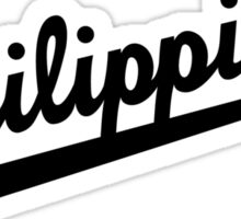 Philippines Dodgers Script by AiReal Apparel Sticker