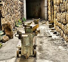 Ammo trollies! Bateria de Cenizas, Costa Calida, Spain  by Squealia