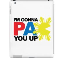 Pacquiao PAC YOU Up by AiReal Apparel iPad Case/Skin