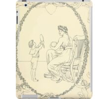 The Buckle My Shoe Picture Book by Walter Crane 1910 61 - Mid Plate Two iPad Case/Skin