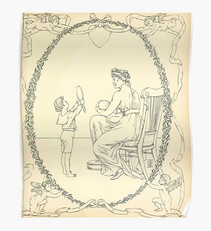 The Buckle My Shoe Picture Book by Walter Crane 1910 61 - Mid Plate Two Poster