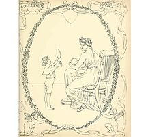 The Buckle My Shoe Picture Book by Walter Crane 1910 61 - Mid Plate Two Photographic Print