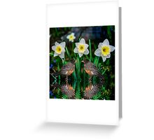 Spring date Greeting Card