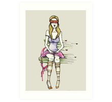 Blind Love* Art Print