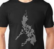 Philippines Digital Map by AiReal Apparel Unisex T-Shirt