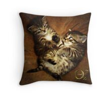Aine and Brigit  Throw Pillow