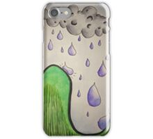 It's Pouring  iPhone Case/Skin