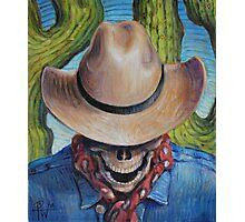 Goodbye Cowboy Photographic Print